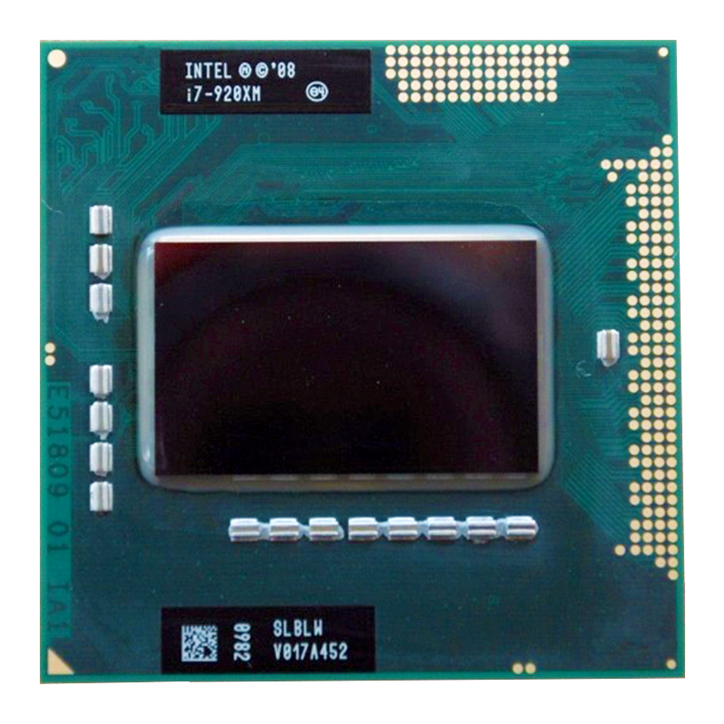 Intel Core i7 920XM <font><b>Processor</b></font> core i7-920XM Extreme Edition PGA988A 8M 2.00-3.20 <font><b>GHz</b></font> Laptop CPU SLBLW image