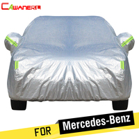 Cawanerl Cotton Car Cover Waterproof Sun Snow Rain Hail Protection Cover For Mercedes Benz G Class G270 G320 G400 G350 G500 G300