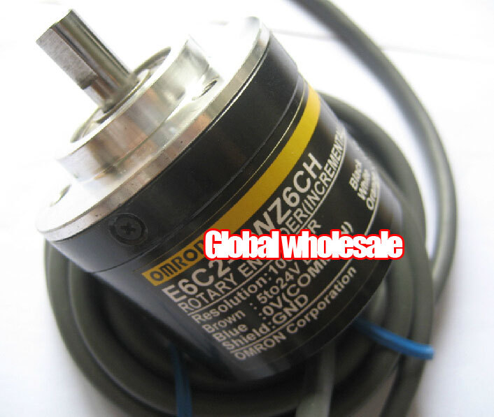 1pcs E6C2 CWZ6CH 100P R encoder for Omron optical rotary speed encoder incremental servo motor encoder