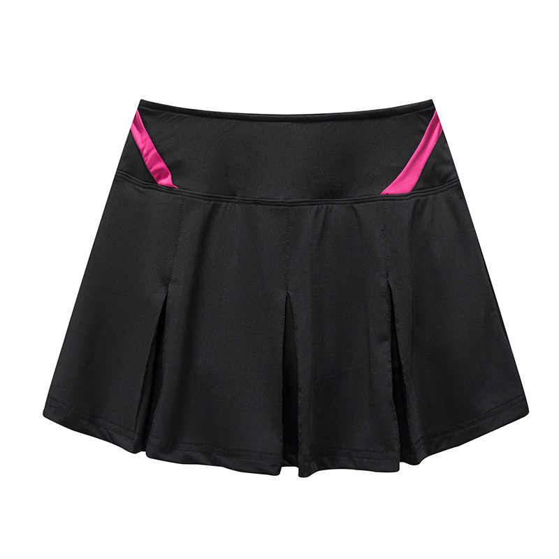feed07d46 Women Girls Pleated Tennis Skirt With shorts High Waisted Tenis Mujer Skort  Sport Skirt Plus Size
