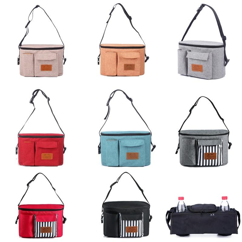 Baby Diapers Bag Large Capacity Baby Stroller Bag Waterproof Nappy Storage Pocket Portable OrganizerNursing Bags