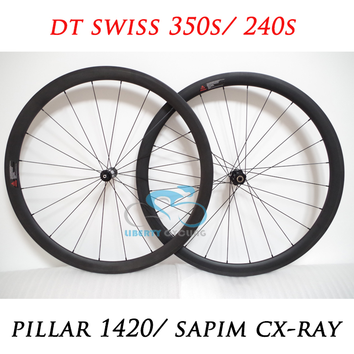 DEERACE 1109G 38mm 700c Lightweight Carbon Road Tubular Bicycle Wheels Bike Wheelset 23mm or 25mm Width with 350S/ 240S hubs