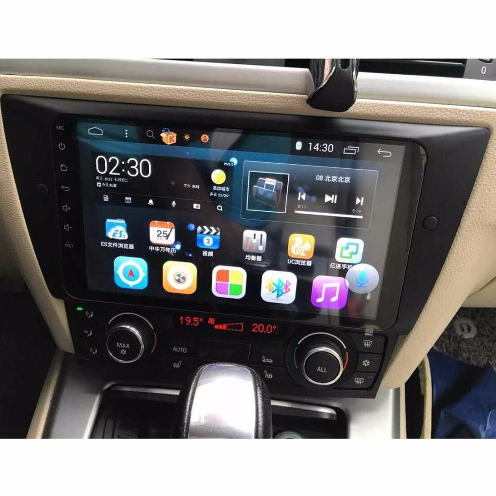Date Android 8.1 Octa Core 2g RAM 32g ROM GPS Navi 9 Pouces Voiture DVD Multimédia pour BMW E90/E91/E92/E93 avec RDS/Radio