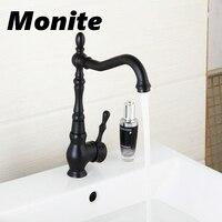Bathroom Faucet ORB Bronze Brass Basin Faucet Bathroom Water Faucet Basin Mixer Black Crane Cock