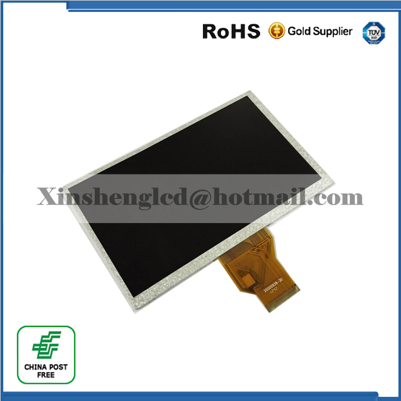 (Ref: 20000938-30 ) Original 7 inch LCD screen tablet display 20000938-00 Free shipping