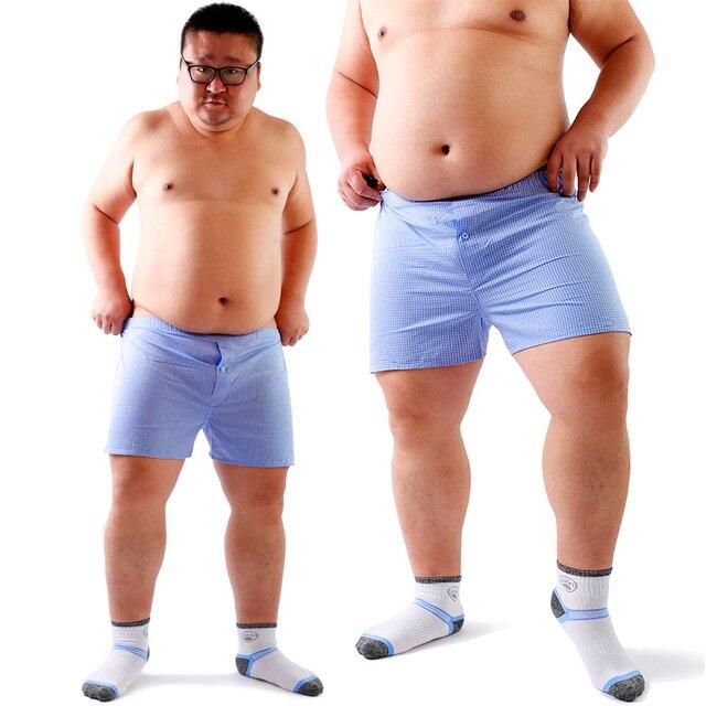 2018 New Arrival Bear Claw Paw Plaid Underwear Plus Size Men's Cotton Arrow Boxers Loose Panties Design For Gay Bear M L XL XXL
