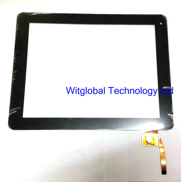 Black New 9.7 inch Tablet F0422 KDX C0807 touch screen panel Digitizer Glass Sensor replacement PC Free Shipping original new 10 1 inch touch panel for acer iconia tab a200 tablet pc touch screen digitizer glass panel free shipping