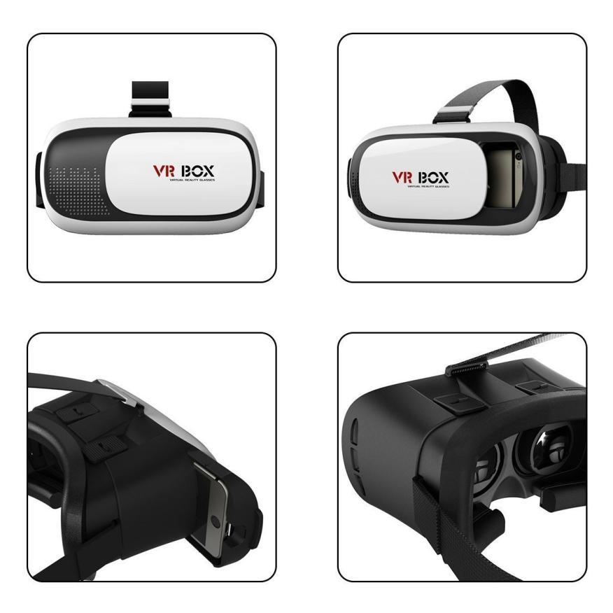 VENTA CALIENTE CAJA de segundo VR Realidad Virtual Gafas 3D + Bluetooth Virtual