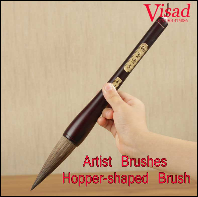 highest quality artist brushes art supplies Chinese traditional calligraphy hair pen big size writing brush pen italic nib art fountain pen arabic calligraphy black pen line width 1 1mm to 3 0mm