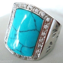 Jewelry Tibet men's stone ring fine 8 9