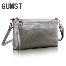 Fashion Messenger Bag For Women Genuine Leather Mini Clutch Bag real leather solid Women shoulder bags Casual lady handbag hand made new vintage genuine leather handbag women burgundy red handbags messenger bags lady vegetable tanned leather solid bag