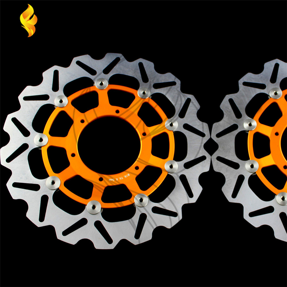 motorcycle parts Aluminum alloy inner ring & Stainless steel outer ring Front Brake Disc Rotor For Honda CBR1000RR 2004-2005
