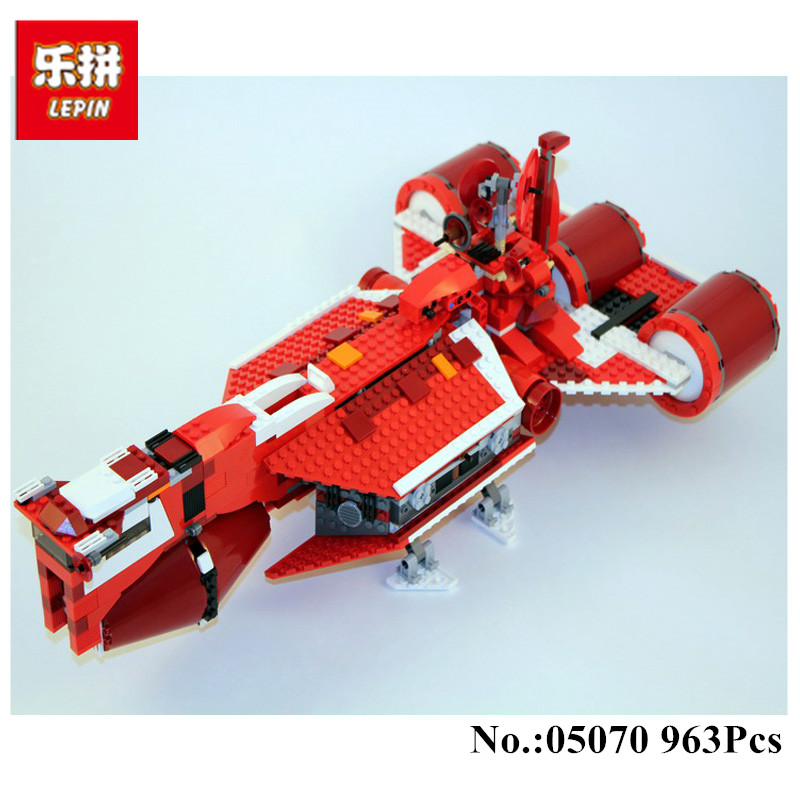 IN STOCK Lepin 05070 963Pcs New The Republic Cruiser Set Educational Building Blocks Bricks Toys Model Gift 7665 in stock lepin 23015 485pcs science and technology education toys educational building blocks set classic pegasus toys gifts