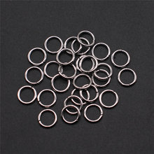 100pcs Stainless Steel Split Ring Jump Rings For DIY Jewelry Making DIY Jewelry Findings & Components 3mm 4mm 5mm 6mm 7mm(China)