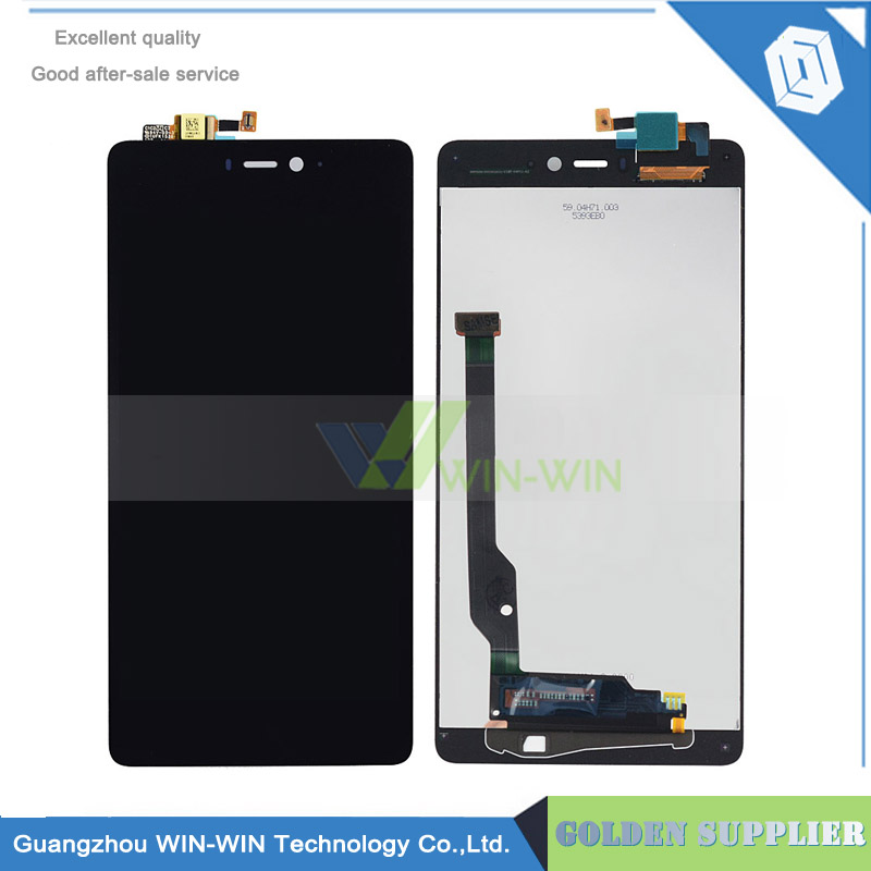 5pcs/lot Black 100% New For Xiaomi Mi4C Mi 4C LCD Display With Touch Panel Glass Screen Digitizer Assembly Free Shipping white black color new lcd display touch digitizer screen glass for google pixel s1 with logo free dhl shipping 5pcs lot