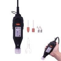Hohe Qualität 220 V/110 V 180W (Dremel Stil) Elektrische Dreh Werkzeug Variabler Geschwindigkeit Mini Bohrer
