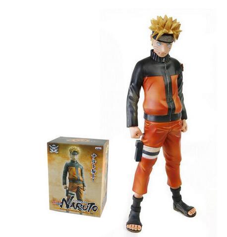 24 CM Brinquedos Figura de Ação Naruto 1/8 scale pintada figura Uzumaki Naruto figura Garage Kits Dolls Brinquedos Anime