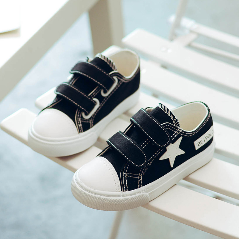2019 New Spring Canvas Children Shoes Fashion Kids Sneakers Boys Girls  Classic Shoes Jeans Denim Flat Child Casual Shoes-in Sneakers from Mother    Kids on ... 5e4227d7832