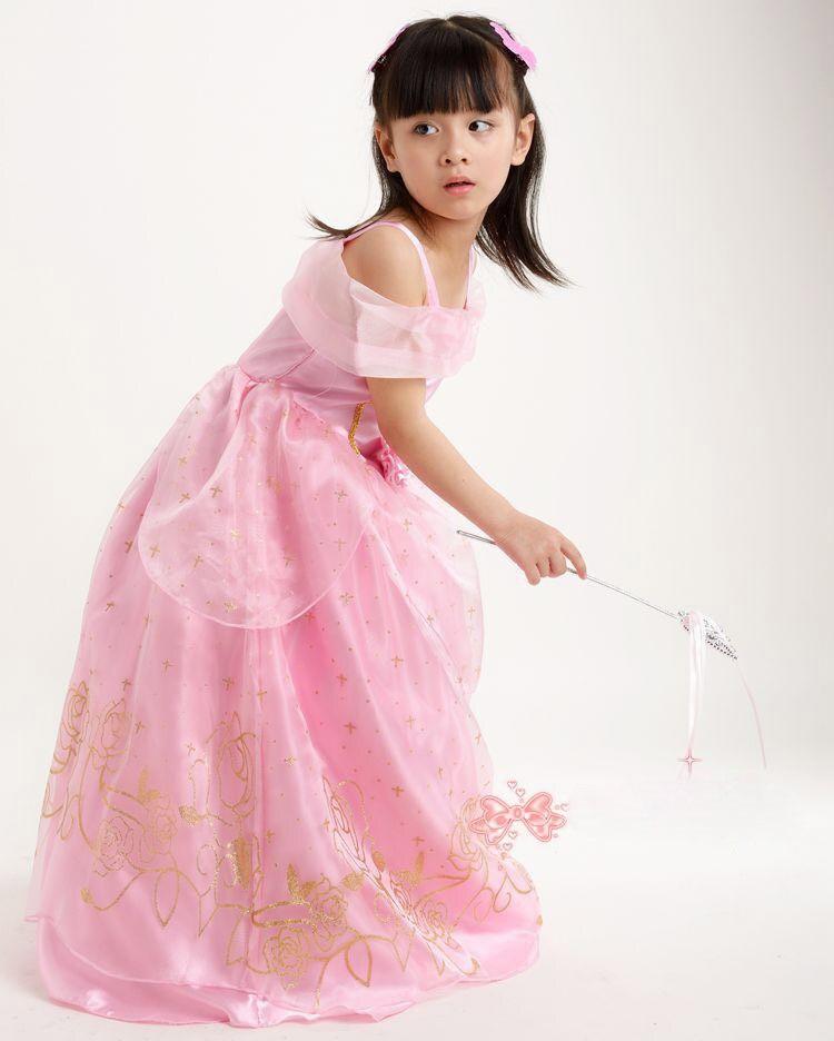 Más nuevo Cenicienta Tangled Belle vestido nueva película princesa ...