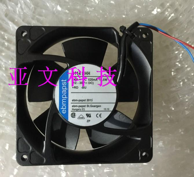 Brand new original papst TYP 4114NHH 12038 24V 120*120*38MM inverter fan sunon free shipping new original taiwan blower fan dp200a p n2123hsl 1238 12cm 12038 120 120 38mm 220v wire type
