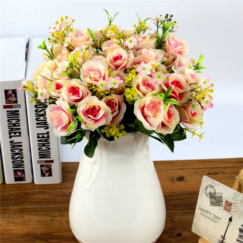 11 heads flower artificial red spring silk flowers mini peony 11 heads flower artificial red spring silk flowers mini peony pearl tea rose magnolia wedding garden peony room decor flowes mightylinksfo