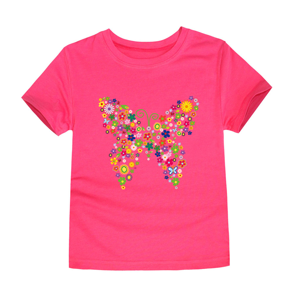 HTB1cbbNruuSBuNjSsplq6ze8pXaZ - Summer Brand New Baby Girls T Shirts Kids Butterfly Flower T Shirts Children Floral Summer Tops for Girl Tshirt Girl