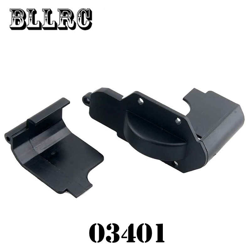 RC car 1/10 HSP 03401 Gear Shelte Gear Cover For 1/10 4WD RC Model Car Flying Fish Buggy Truck 94123 94111 94107 94118 2pcs rc car 1 10 hsp 06053 rear lower suspension arm 2p for 1 10 4wd rc car hsp 94155 94166 94177