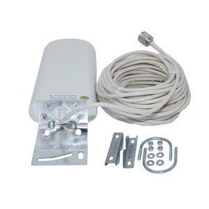 Image 4 - GSM anten yükseltici 3G 4G LTE Anten 20dBi 3G harici anten 10m kablo ile 698 2700MHz 2G 3G 4G cep sinyal tekrarlayıcı