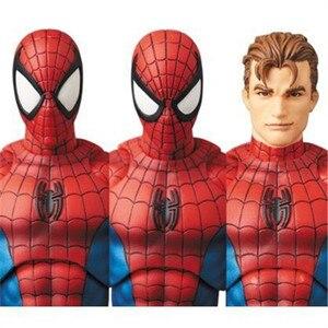 Image 3 - Dc liga da justiça super herói maf maf o incrível homem aranha 075 pvc figura de ação brinquedo boneca