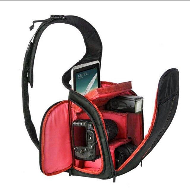 Dslr Sling Bag Triangle Shoulder Camera Slr Backpack For Canon Nikon Cameras Brand Photography Video