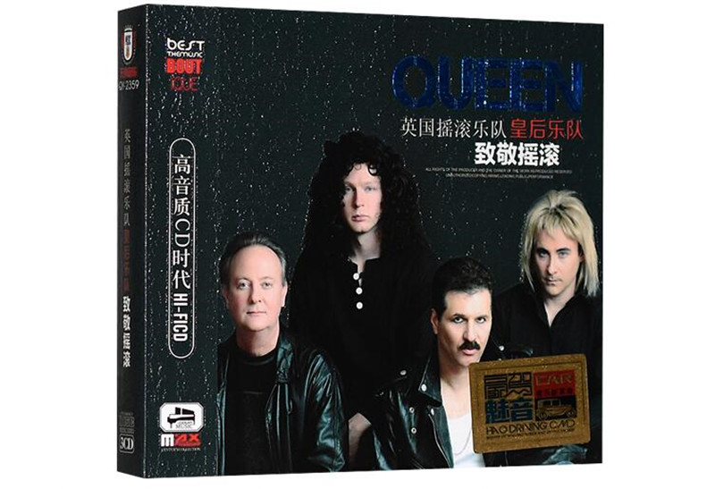 Free Shipping: Queen album selected European and American rock music songs car 3cd sealed