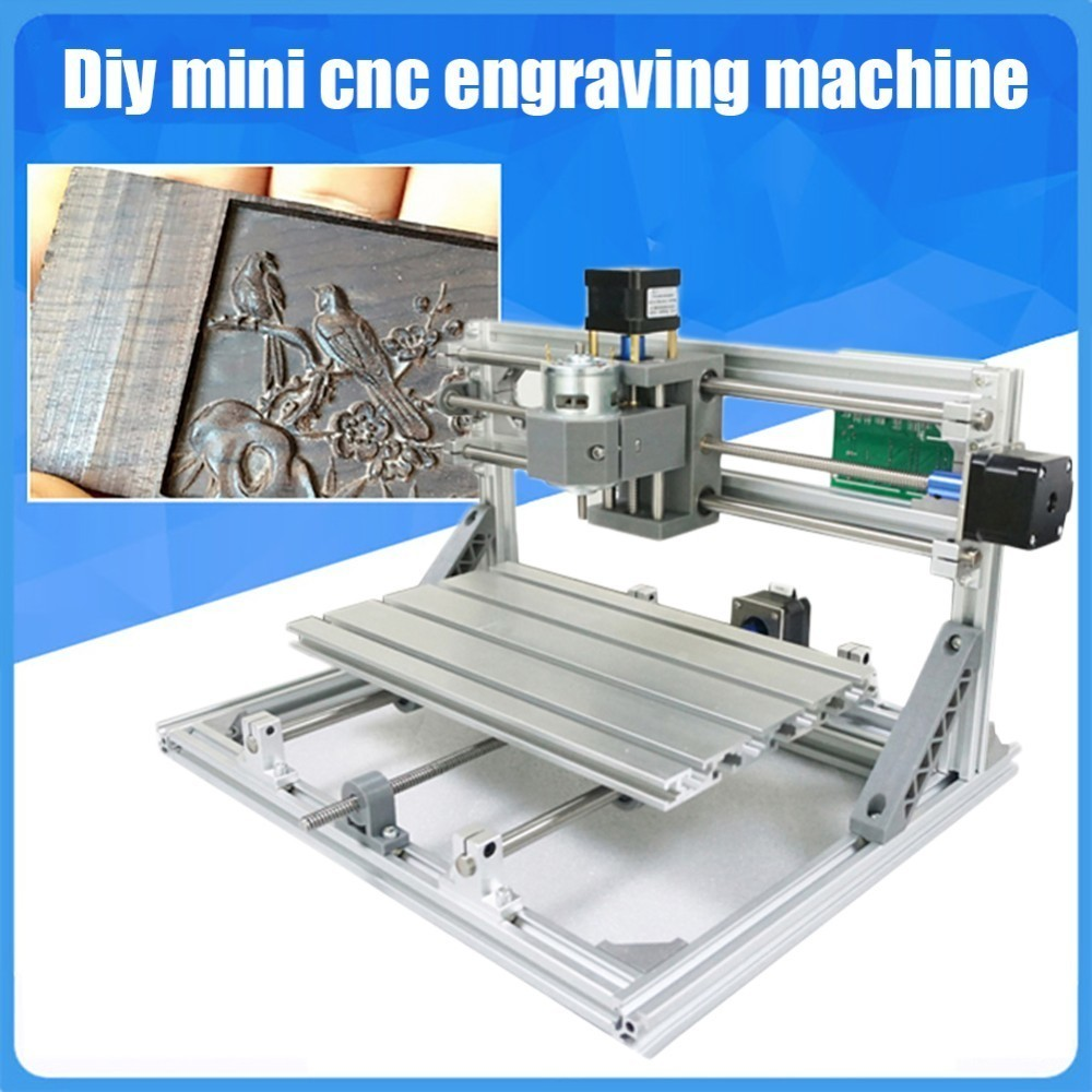 CNC 3018 Standard DIY Digital Mini CNC Engraving Machine Wood Router Parts disassembled pack mini cnc 1610 2500mw laser cnc machine pcb wood carving machine diy mini cnc router