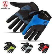 КОЛЕСО полный finger сенсорный экран велоспорт перчатки осень дорога mtb горный лайкра велосипед спортивные перчатки дышащий оборудование(China (Mainland))