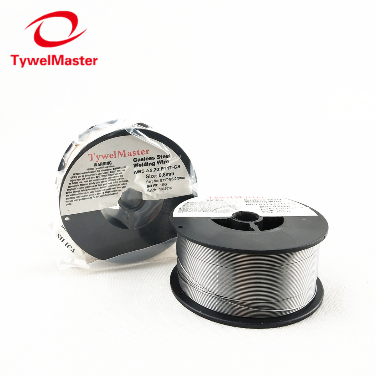 Flux Cord Welding Wire Gasless E71T-GS ASW A5.20 0.9mm 0.8mm 1KG Spool No Gas Steel Welding Wire For Without Gas MIG Welder