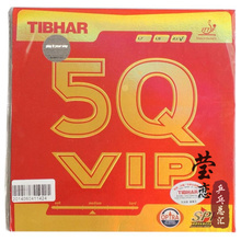 Original Tibhar 5Q VIP pimples in table tennis rubber table tennis rackets racquet sprots made in Germany fast attack with loop