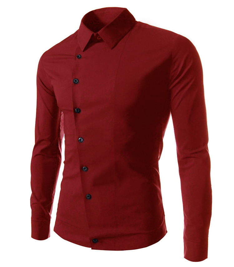 amazon quality drop shpping 2017 Casual Slim Fit Men Shirt ...