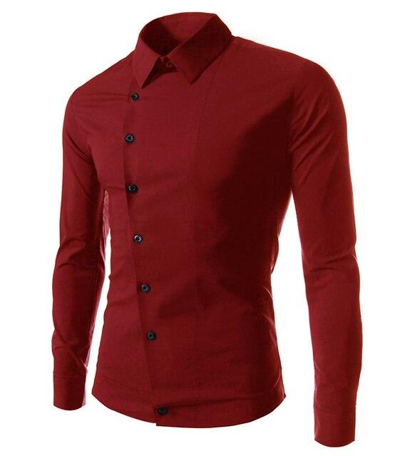 7793358449 amazon quality drop shpping 2017 Casual Slim Fit Men Shirt men Casual  Shirts long-sleeve Turn-down Collar Stylish Dress Shirts