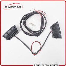 Baificar Brand New Genuine Steering Wheel Control Buttons Audio Volume Cruise Control System Kit For Ford Focus 2005 2011