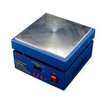 Cheaper New 200*200MM Digital thermostat temperature Platform heating plate 220V & 110V preheating station 800W Preheater free DHL