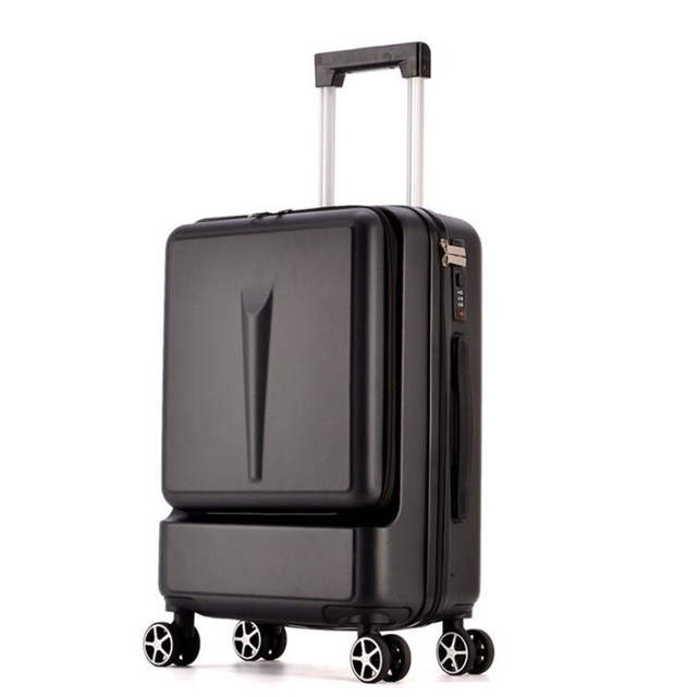 "TRAVEL TALE 20"" 24"" inch ABS spinner laptop trolley hand luggage trunk wheel bag for boarding"