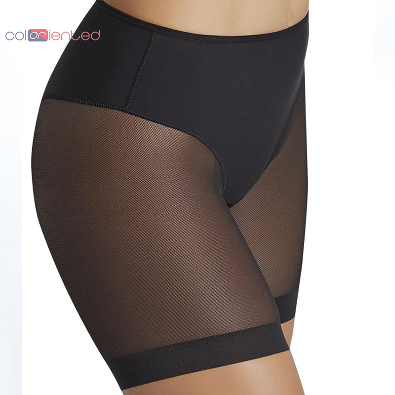 COLORIENTED New Great Panties for Sexy Ladies High Stretch Seamfree Women's Underpants Net Cloth Splicing Mesh Body Shaping
