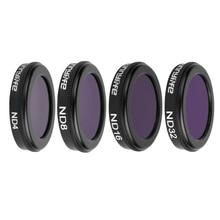 Mavic 2 Zoom 4 шт. комплект ND4 ND8 ND16 ND32 фильтр для объектива камеры фильтры ND 4 8 16 32 Фильтр для DJI Mavic 2 drone запчасти