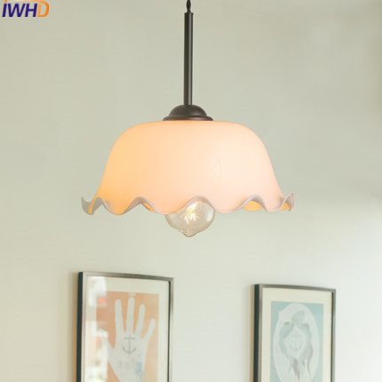 IWHD Modern Glass Pendant Light LED Fashion Living Room Home Lighting Fixtures Luminaire Hang Lamp Lamparas Lustre Hanglamp iwhd aluminum led pendant light modern bedroom living room hanglamp home lighting fixtures nordic style suspension luminaire
