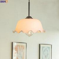 IWHD Modern Glass Pendant Light LED Fashion Living Room Home Lighting Fixtures Luminaire Hang Lamp Lamparas Lustre Hanglamp
