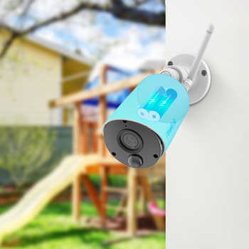 Reolink 100% Wireless Security IP Camera Argus Eco and Solar Power Full HD 1080P Outdoor Video Surveillance