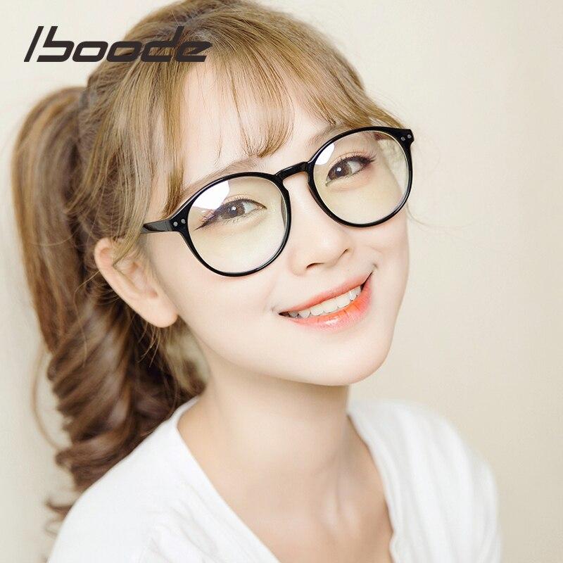 Iboode Ultralight Reading Glasses Round Frame Leopard Reading Eyeglasses For Women Presbyopia Lenses Glasses 2018 New Fashion