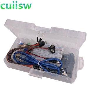 Image 4 - Başlangıç kiti 13 in 1 kiti yeni başlangıç kiti mini Breadboard LED jumper tel düğmesi arduino için uyumlu UNO r3