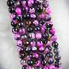 Free Shipping 2017 New 1Strand Faceted 10mm Pink Fire Agates Round Loose Bead 15 5inch For