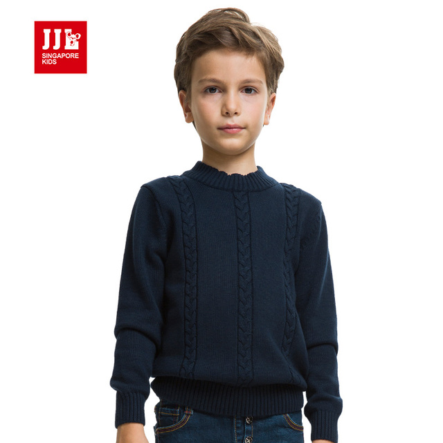 2015 nueva llegada niños niños niños niñas suéter tapas de la camisa de manga larga de lana caliente de tejer suéter de algodón 100% niños jersey