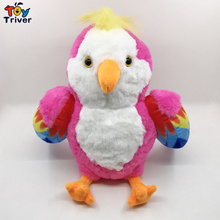 22cm Plush Red Rio Macaw Parrot Toy Stuffed Doll Bird Baby Kids Children Birthday Gift Home Shop Decor Triver Drop Shipping free shipping original rio parrot plush toys 30cm blu